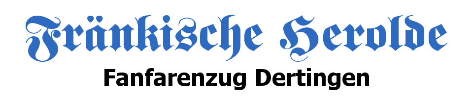 "Fanfarenzug Dertingen ""Fränkische Herolde"""